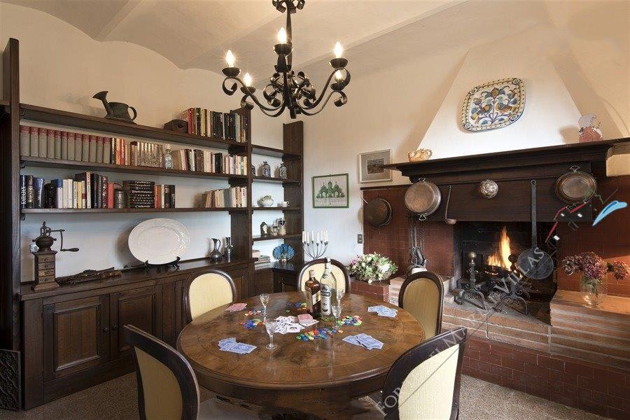 Villa Vineyard : Salone