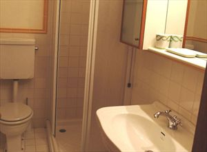 Appartamento Ferdinando : Bathroom with shower
