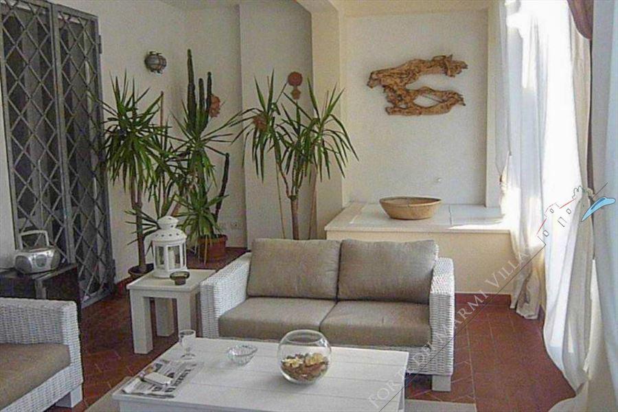 Villa del Duca : Vista interna