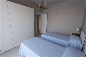 Appartamento Forte Monte  : спальня с двумя кроватями
