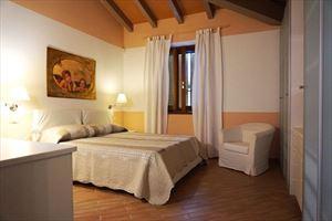 Appartamento Gold : спальня с двуспальной кроватью