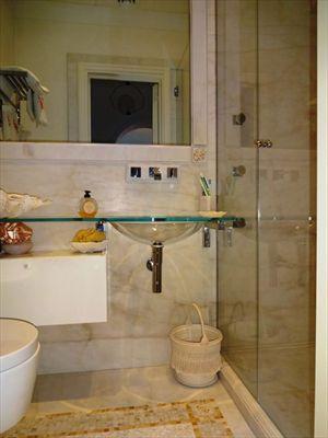 Appartamento Fiascherino : Ванная комната с душем