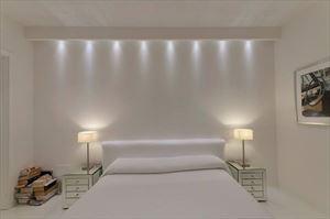 Villa Cristal : спальня с двуспальной кроватью