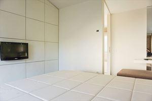 Villa Soul : спальня с двуспальной кроватью
