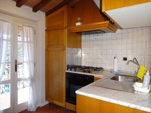 Appartamenti centro storico Forte dei Marmi  : Кухня