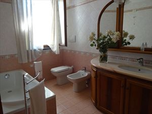 Villa Palazzetto  : спальня с двуспальной кроватью