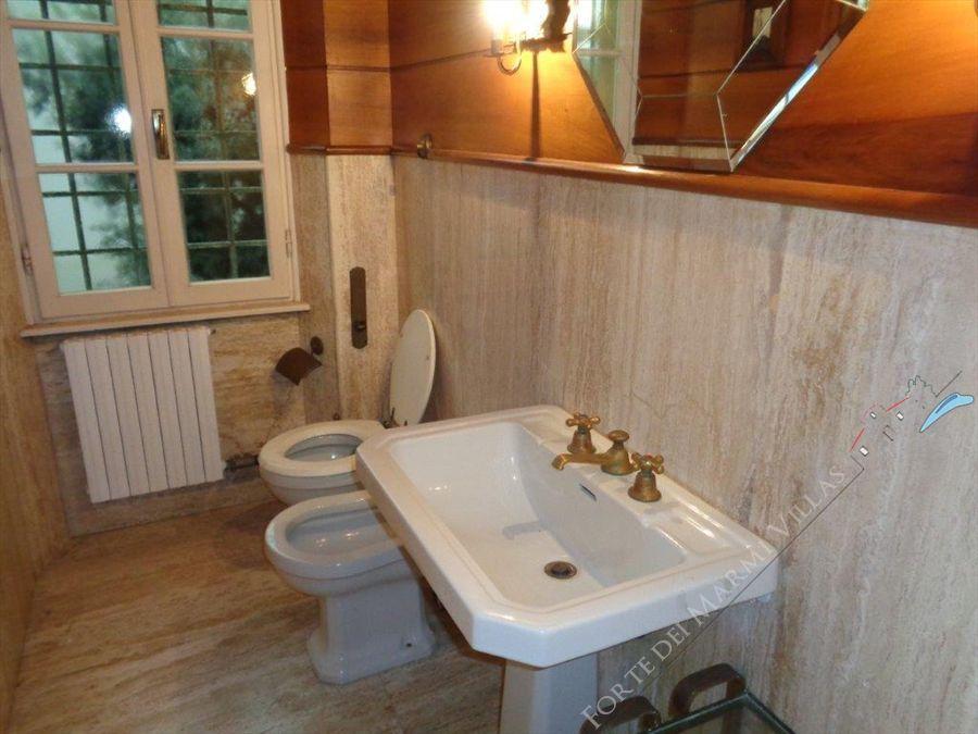 Villa   dei Patrizi  : Bagno con doccia