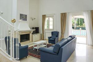 Villa Afrodite : Гостиная