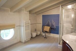 Villa Afrodite : Bathroom with shower