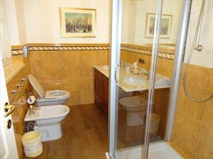 Villa Mandarina : Bathroom with shower