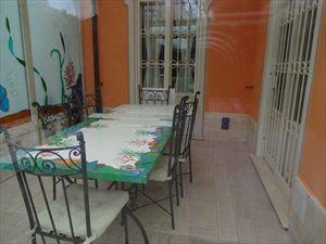 Villa Mandarina : Veranda