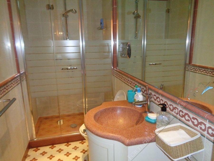 Villa Romanica  : Bagno con doccia
