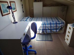 Appartamento Vista Mare  : спальня с односпальной кроватью