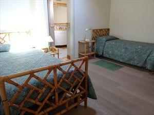 Appartamento Vista Mare  : спальня с двумя кроватями