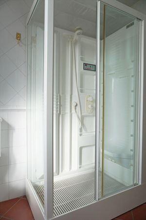 Villa Maria : Bagno con doccia