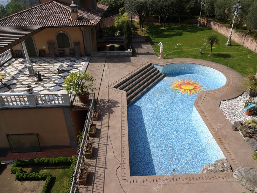 Villa Vista Mare luxury  : Outside view