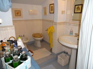 Villa Roberta  : Bathroom with shower