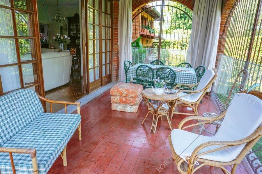 Villa Cesare : Veranda