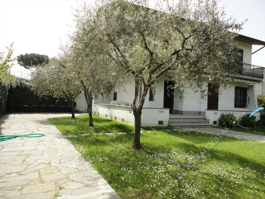 Villa degli Olivi semi detached villa to rent Forte dei Marmi