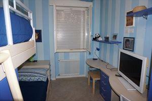 Appartamento dei Pioppi : Спальня