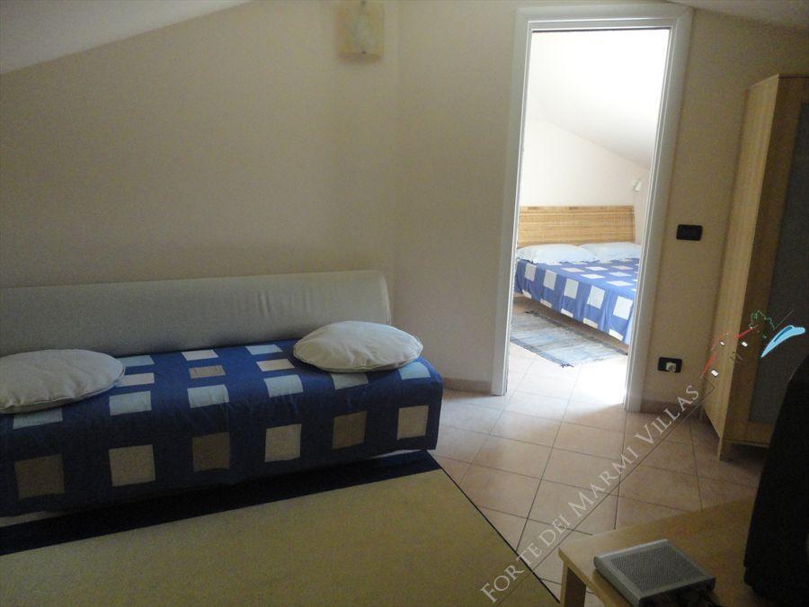 Mansarda Azzurra appartamento in affitto Forte dei Marmi