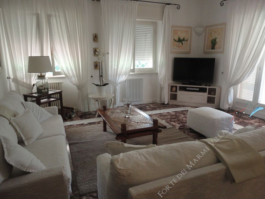Villa Mareggiata  : Living room