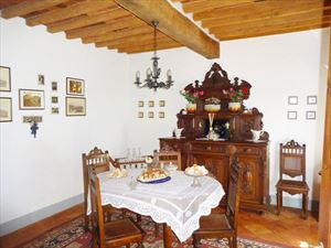 Villa Massarosa : Sala da pranzo