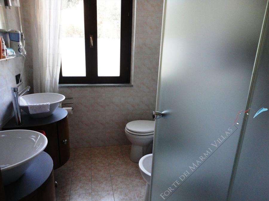 Villa Collina   sea  view : Bagno con doccia
