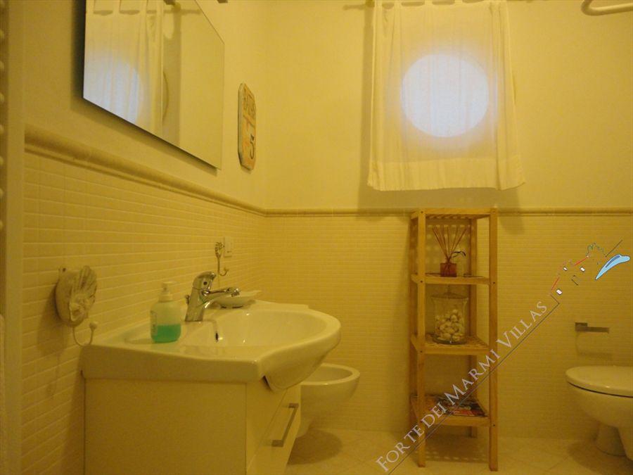 Villa Edera : Bagno con doccia