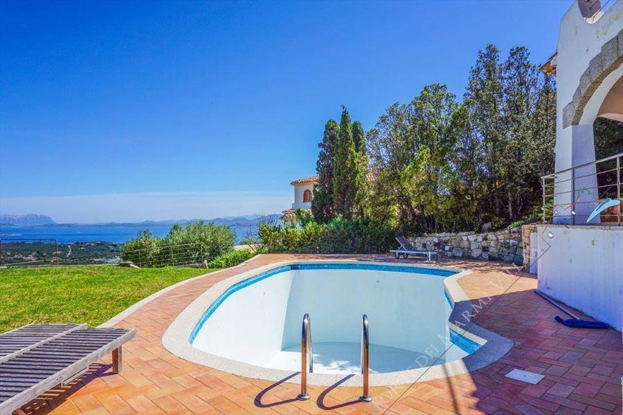 Villa Porto Cervo : Swimming pool
