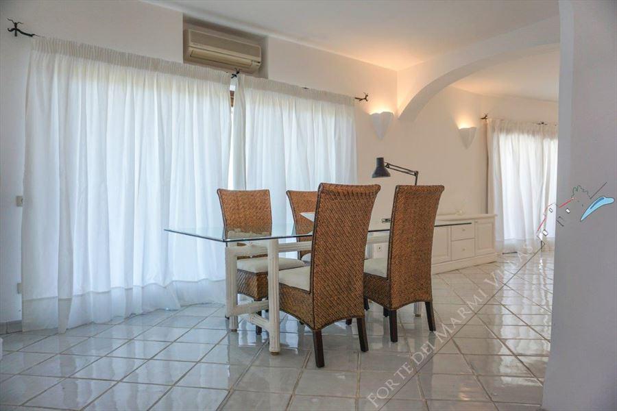 Villa Porto Cervo : Dining room
