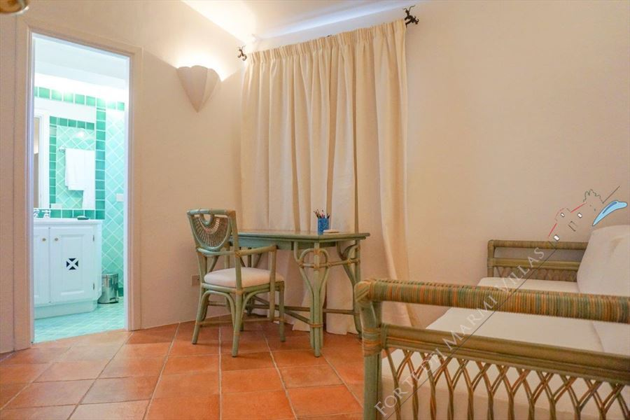 Villa Porto Cervo : Single room