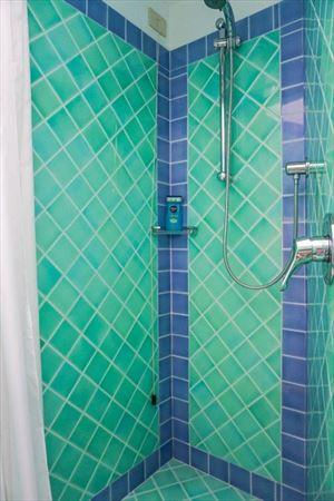 Villa Porto Cervo : Bathroom with shower