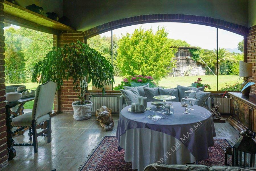 Villa Marilena : Salotto