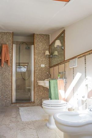 Villa  Principessa : Bagno con doccia