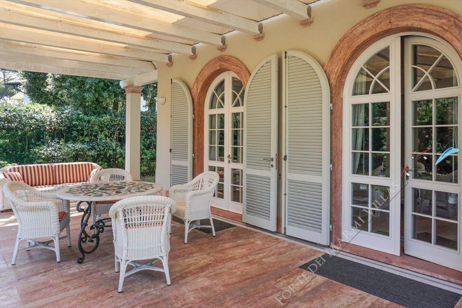 Villa dei Marmi : Veranda