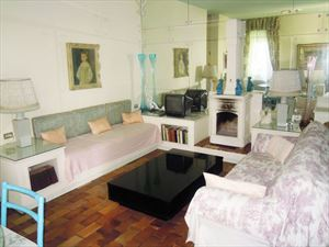 Villa Verde Fiore : Гостиная