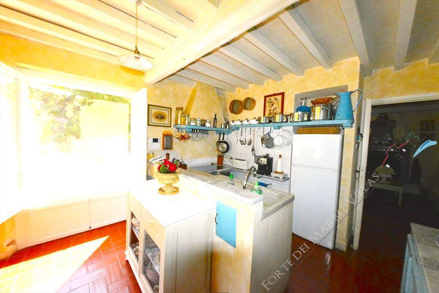 Villa Capriglia   Vista mare  : Кухня
