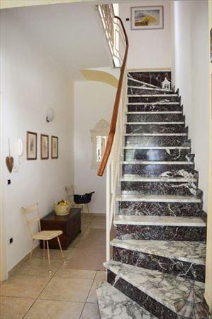 Villa Grazia : мраморная лестница