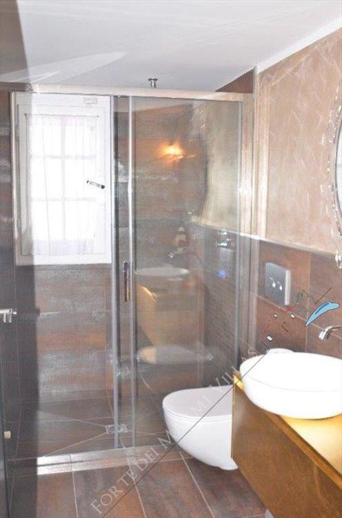 Villa Aria : Bagno con doccia