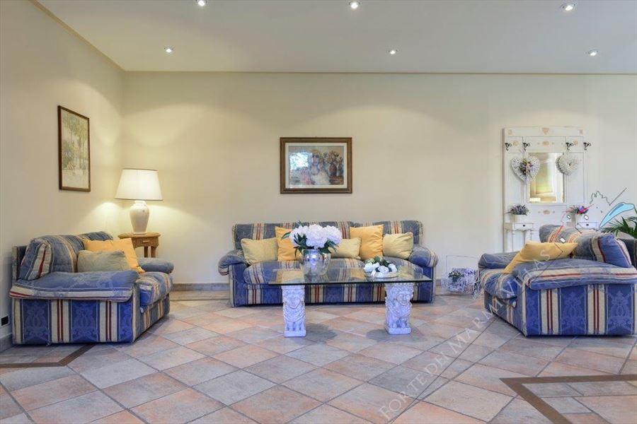 Villa Focette   : Salone