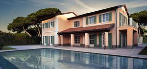 Villa Caravaggio: Detached villa Forte dei Marmi