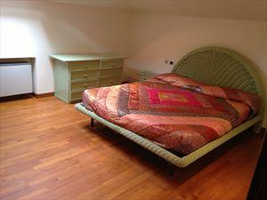 Villa Marina di Pietrasanta  : спальня с двуспальной кроватью