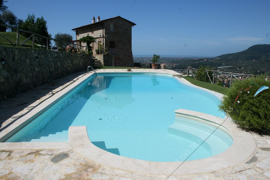 Villa Vista Mare  Detached villa  to rent  Massarosa