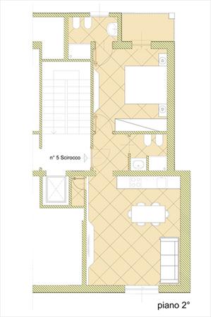 Appartamento Alessio : planimetry