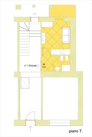 Appartamento Ulisse : планиметрия