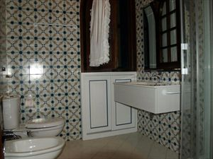 Villa Bocconcino : Bathroom with shower