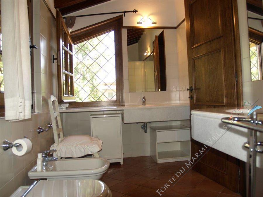 Villa Bocconcino : Bagno con vasca