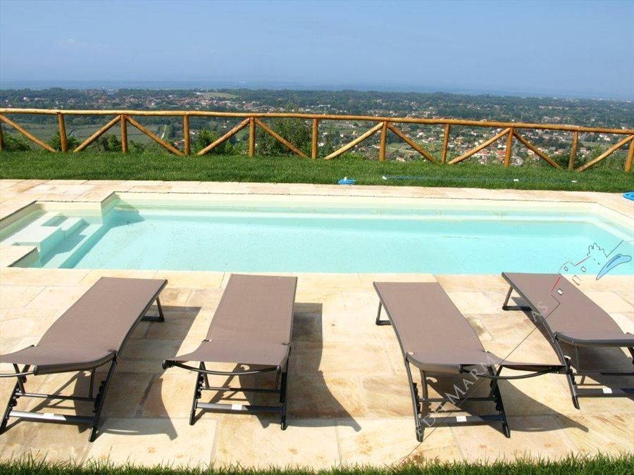 Villa Amazing Sea View  : Piscina