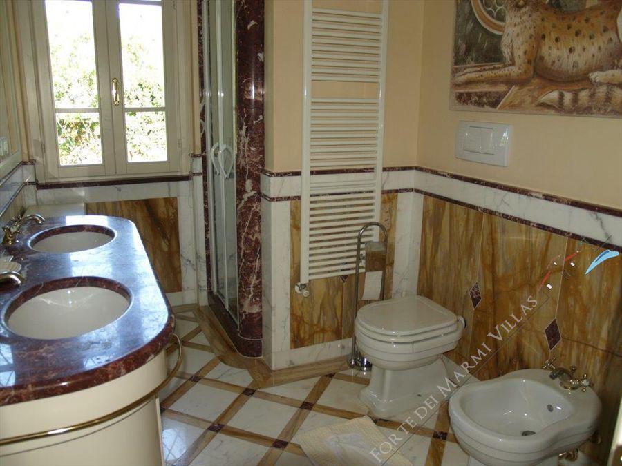 Villa Dominus  : Bagno con doccia